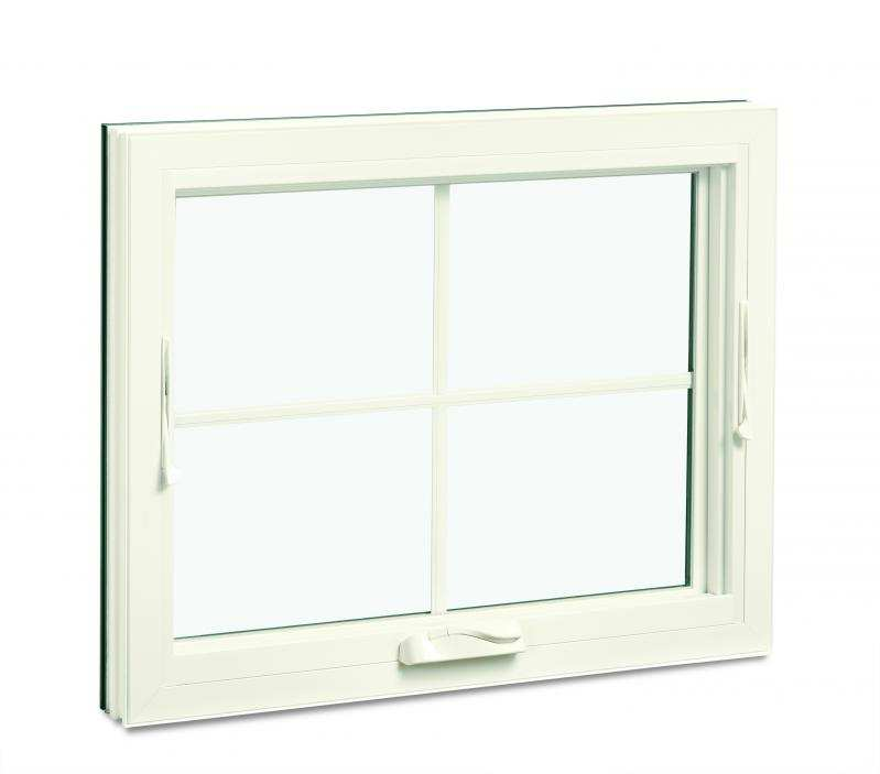 awning windows with grille