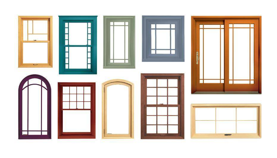 grille and color options for windows and patio doors