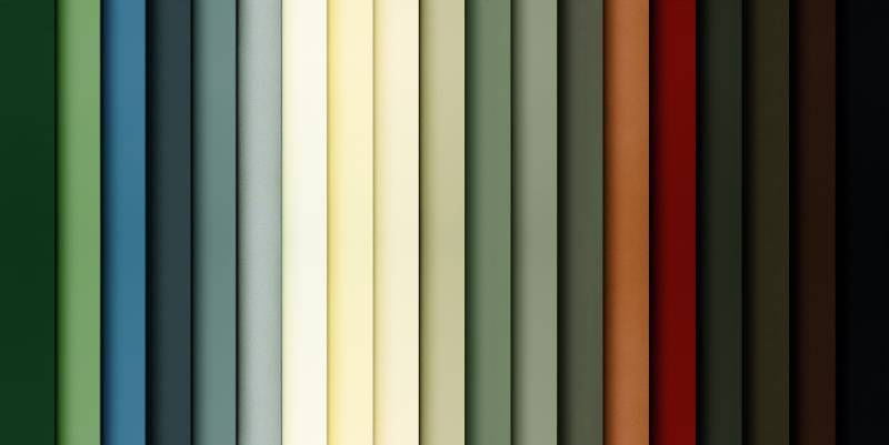 exterior window and patio door colors